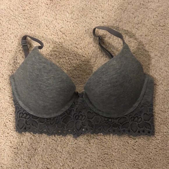 aerie Other - Aerie 30D plunge push-up bra